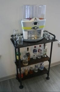 The drink mixing machine!